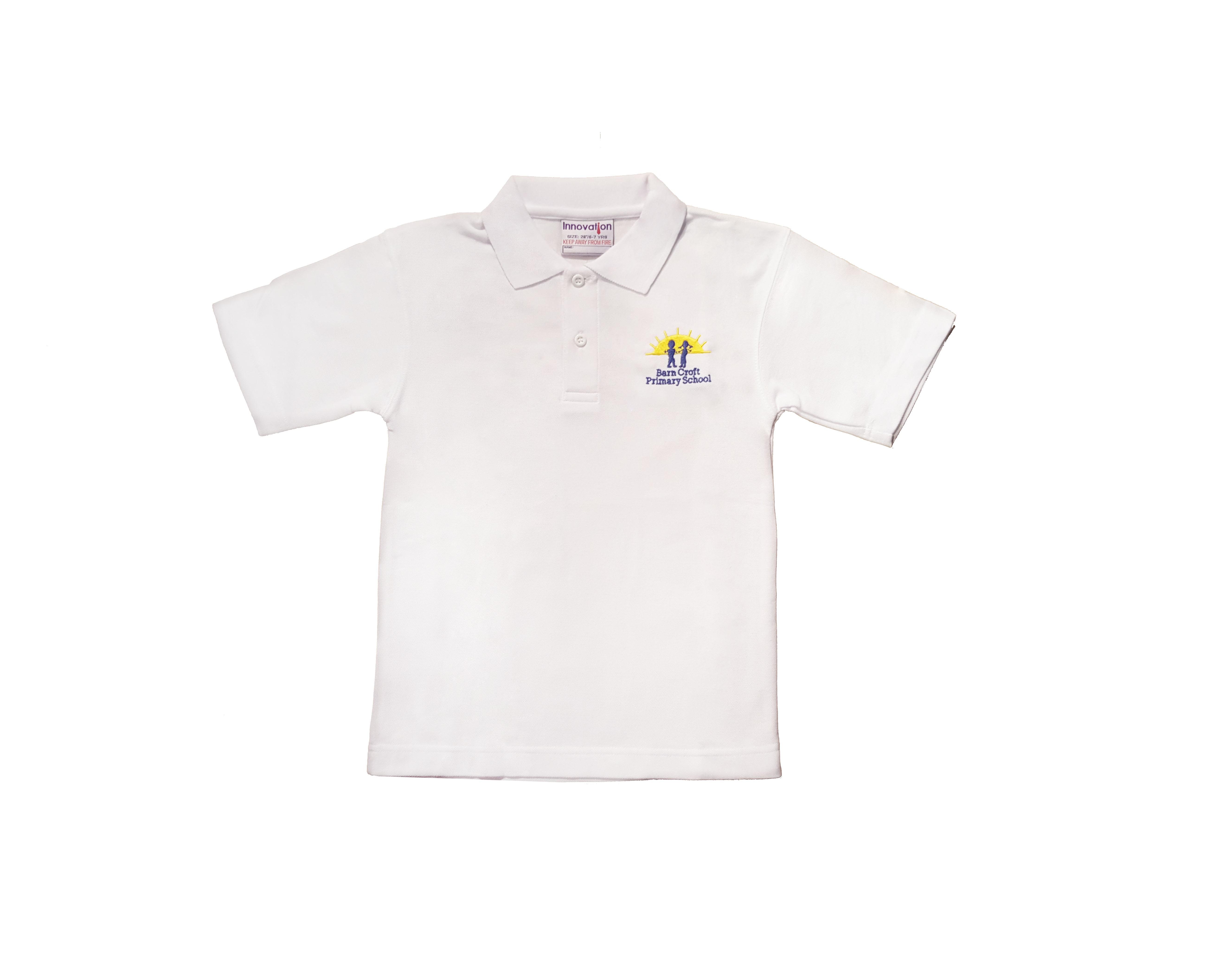 Barn Croft White Polo Shirt