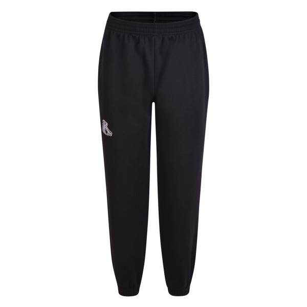 KELMSCOTT BLACK JOGGING BOTTOM WITH LOGO