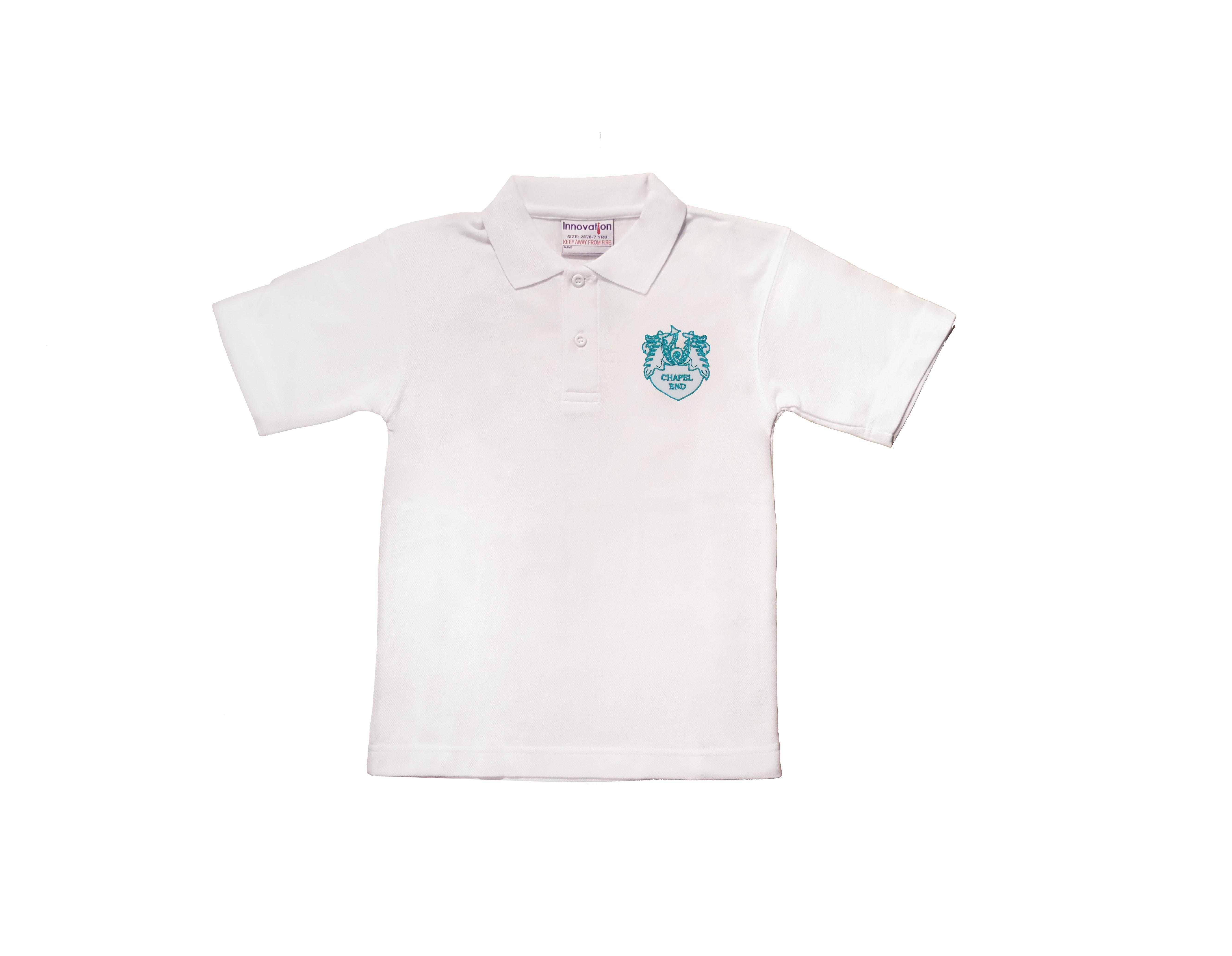 Chapel End Infant White Poloshirt
