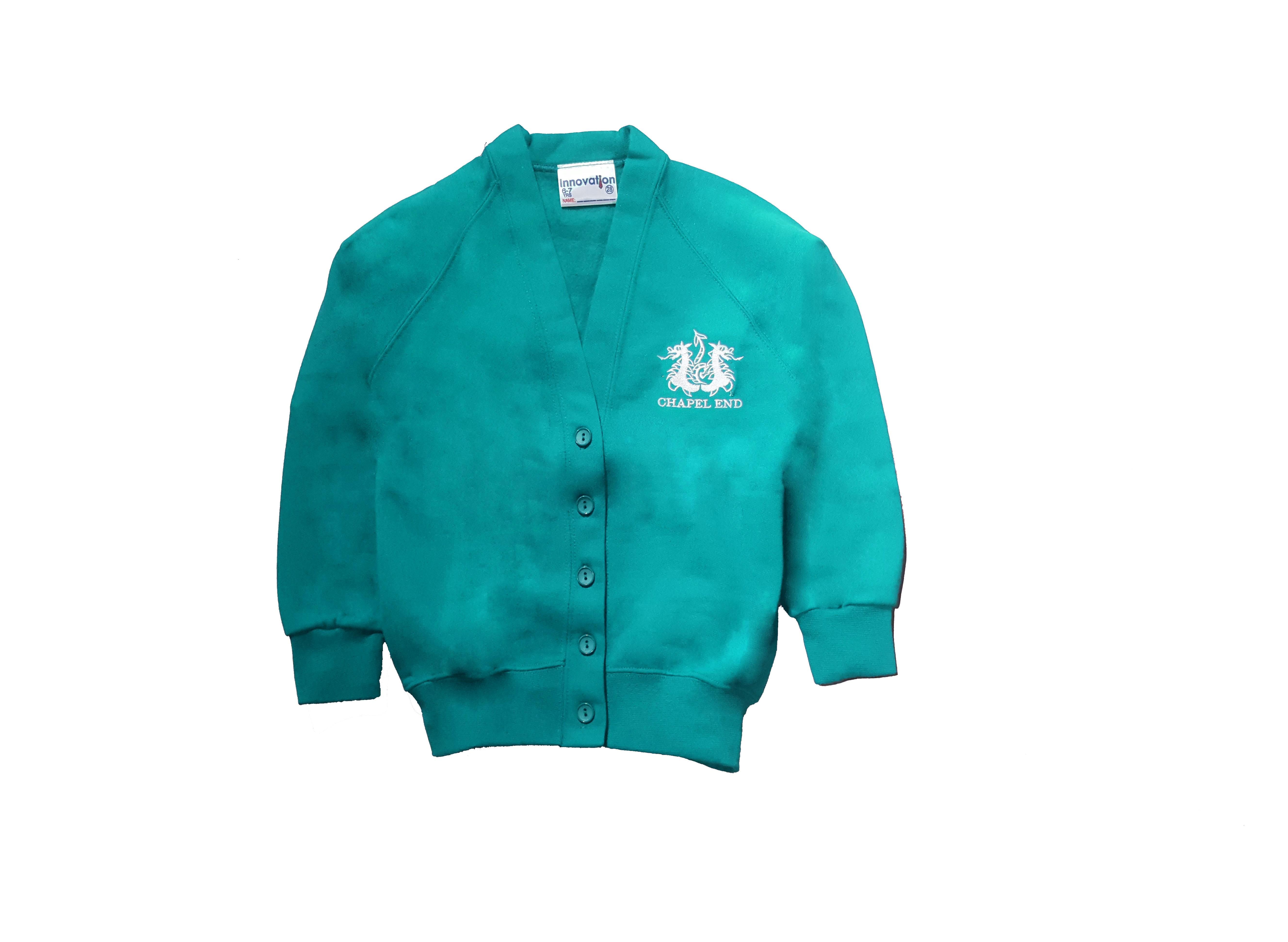 Chapel End Junior Sweatshirt Cardigan