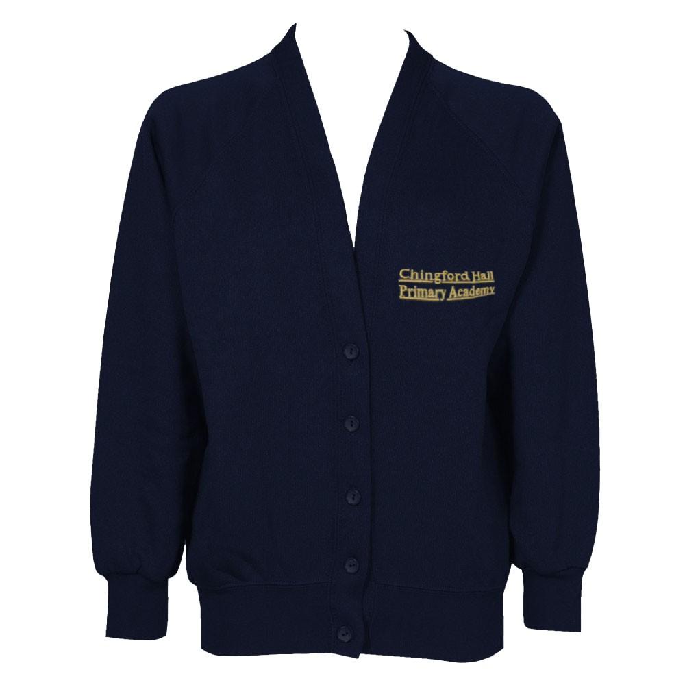 Chingford Hall Sweatshirt Cardigan