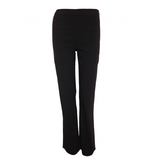 GIRLS PULL UP STRETCH TROUSERS