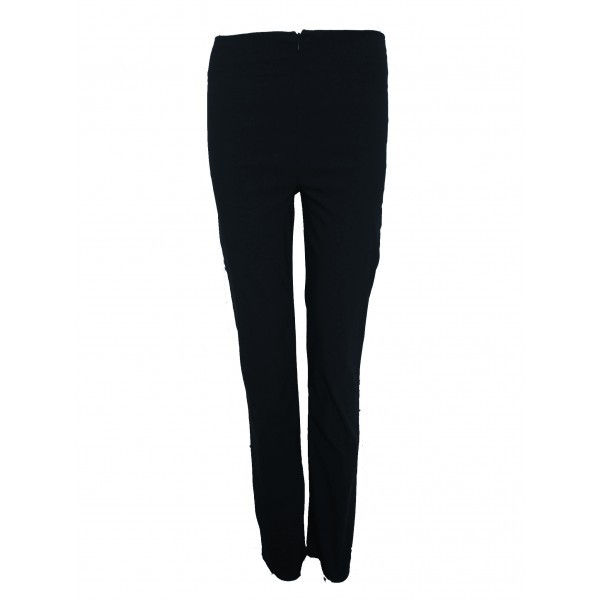 GIRLS ZIP STRETCH TROUSERS