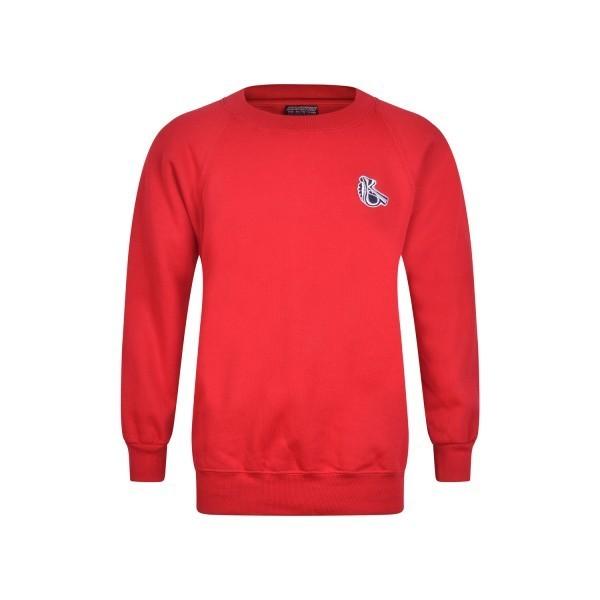 Kelmscott Red P.E Crewneck Sweatshirt
