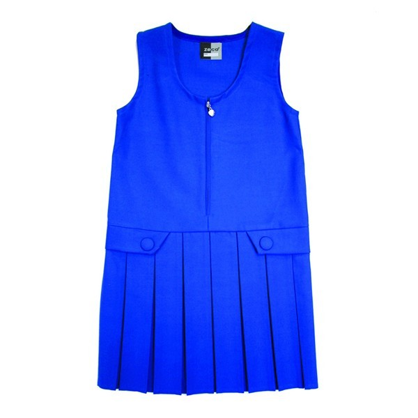 ZIP FRONT PINAFORE